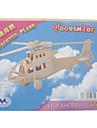 3D Yapbozlar Ahşap Yapbozlar Dövüşçü Helikopter Eğlence Ahşap Klasik Genç Erkek Genç Kız Oyuncaklar Hediye