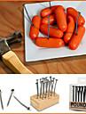 creativ gustare fier unghiilor de proiectare fructe preia Furci reutilizabile (18-pack)