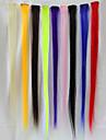 Hög kvalitet Värmebeständig Peruk 60cm hårförlängning (1 st)
