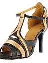 Satin femei personalizate și din imitație de piele Pantofi de dans superior