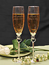 Sticlă fără Plumb Prăjire Flutes Personalizat Cutie de Cadouri