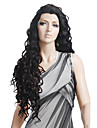 Curly / Spanish Curly Remy Human Hair / Human Hair 27 inch Wig Lace Front
