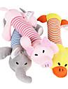 Jucărie Pisică Jucării Cățel Jucării Animale Jucării de Mestecat Desene Animate Țipăt ascuțit Pluș Pentru animale de companie