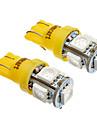 SO.K T10 Bilar Glödlampor W SMD 5050 lm Blinkers ForUniversell