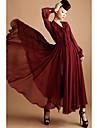 Femei șifon Maxi Dress