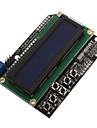 LCD1602-7 Monitor 5V LCD albastru ecran cu cristale lichide cu iluminare din spate ECT