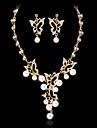 Pentru femei Ștras / Imitație de Perle Set bijuterii - Altele Auriu, Argintiu