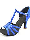 Chaussures de danse (Noir/Rouge/Bleu/Or) - Personnalisable Satin - Chaussures de Sport/Danse latine/Salsa