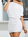 Femei umăr rochie sexy moda