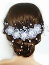 Imitație de Perle / Teracotă / Satin Flori cu 1 Nuntă / Ocazie specială Diadema
