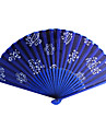 """Ventilatoare și umbrele de soare-# Piece / Set Ventilatoare de Mână Temă Asiatică Temă Florală Albastru 15""""x8 1/3""""x 3/4""""(38cmx21cmx1cm)"""