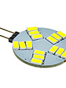 G4 LED-spotlights 15 lysdioder SMD 5630 Kallvit 330lm 5500-6500K DC 12V