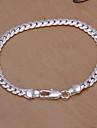 argint lanț de cupru dulci 20cm femei & legătură brățară (de argint) (1 buc)