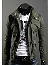 Bărbați Jachetă Paltoane / Jachete Șic & Modern-Mată