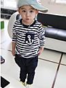 Stripes Stil Navy Îmbrăcăminte Set Boy