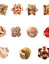 Puzzles en bois IQ Casse-Tete Casse-tete Test de QI Adorable Amusement Pratique Bois Classique Enfant Cadeau