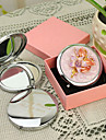 Personalizate cadouri Floral Stil Pink Chrome Compact Mirror