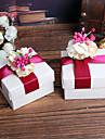 Creative Cubic Material Favor Holder cu Panglici Model Flori Cutii de Savoare Altele Accesorii de Nuntă