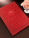 Guest Book Paper Others Asian Theme Floral Theme Holiday Classic Theme WeddingWithWhite Bow Flower Guest Book