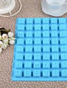 Silicon engleză Tort de Litere Ice Chocolate Mould, 24x18.3x1.5cm (Random Color)