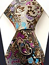 Casual Silk Multicolor Floral Print Cravată pentru bărbați