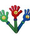 1PCS Smiling Face Hand Clapper Clap noisemaker Majorete Concert Cupa Mondială Cheer Props (28x11.5x2cm, culoare aleatorii)