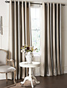 Curtains Drapes Living Room Contemporary Polyester Embossed