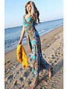 Femei de moda Femeile Holiday Beach Maxi Dress