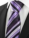 Bărbați Dungi Petrecere Cravată