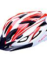 FJQXZ Adultes Casque de velo 18 Aeration Resistant aux impacts, Visiere amovible EPS, PC Cyclisme sur Route / Cyclisme / Velo Homme / Femme