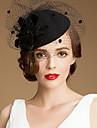 Femei Tul Lână Diadema-Nuntă Ocazie specială Informal Exterior Pălării/Căciuli