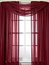 Skira Gardiner Shades Vardagsrum Enfärgad Polyester