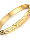 Dame Brățări Bantă Design Unic La modă costum de bijuterii Placat Auriu Cowry 18K de aur Bijuterii Bijuterii Pentru Nuntă Petrecere