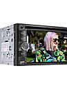 """6.2 """"2 DIN LCD pekskärm in-dash bil dvd-spelare med bluetooth, gps, ipod, spel, stereo radio, atv"""