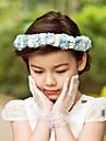 Satin Hârtie Flori 1 Nuntă Ocazie specială În aer liber Diadema