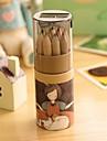 desen animat model 12 creion colorat pictura (12 buc / set) pentru școală / birou