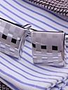 buton bărbați xinclubna® de moda cupru argint (1.5cm, argint) (1pair)