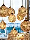 Moderne/Contemporain Globe Lampe suspendue Pour Chambre a coucher Salle a manger Couloir Ampoule non incluse