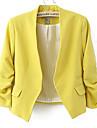 AMC femei scurt Nu Buckle manta Suit Blazer