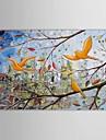Pictat manual Peisaj Un Panou Canava Hang-pictate pictură în ulei For Pagina de decorare