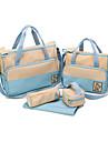 5 stycken / Set Barnblöjor Axelväskor Nappy Mom Väskor Livsmedels Väskor Crossbody Messenger Bags