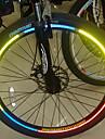 YELVQI bicyclette de velo reflechissant Autocollants