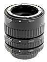 aliaj de aluminiu 3-piese Set tub de extensie macro pentru Nikon (de argint)