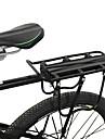 Bike Cargo Rack Cykling / Cykel Aluminiumlegering Svart