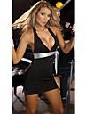 Dulci femei low-cut curea Bodycon Dress