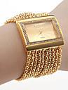 Pentru femei Quartz Ceas Brățară Japoneză imitație de diamant Cupru Bandă Lux / Sclipici / Elegant / Modă Auriu