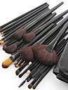 32pcs Professionnel Pinceaux a maquillage ensembles de brosses Pinceau en Poils de Chevre / Pinceau en Fibres Synthetiques / Cheval OEil /
