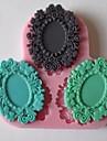 bakformen Choklad Kaka Tårta Silikon Miljövänlig GDS (Gör det själv) Nyår