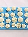Butoane în formă de copt fondant tort choclate bomboane mucegai, l12.8cm * w7.5cm * h1.2cm