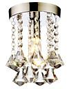 LightMyself™ Montaj Flush Lumini Ambientale - Cristal, Stil Minimalist, 110-120V / 220-240V Becul nu este inclus / 20-30㎡ / E12 / E14